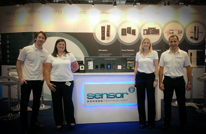 Sensor Access at IFSEC 2014