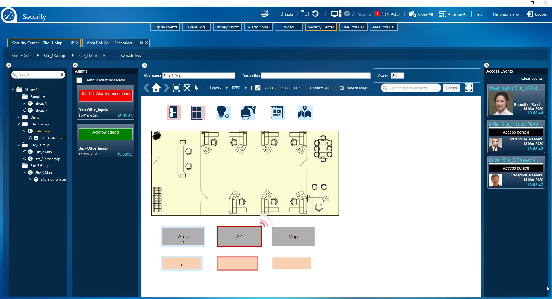Multisite screenshot