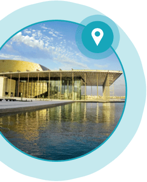 Image of the third sport and leisure case study - National Theatre, Bahrain