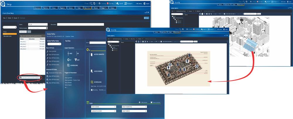 Access Control software Screen shots